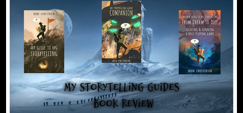 A Book Review On The Aron Christensen's Series, My Storytelling Guides